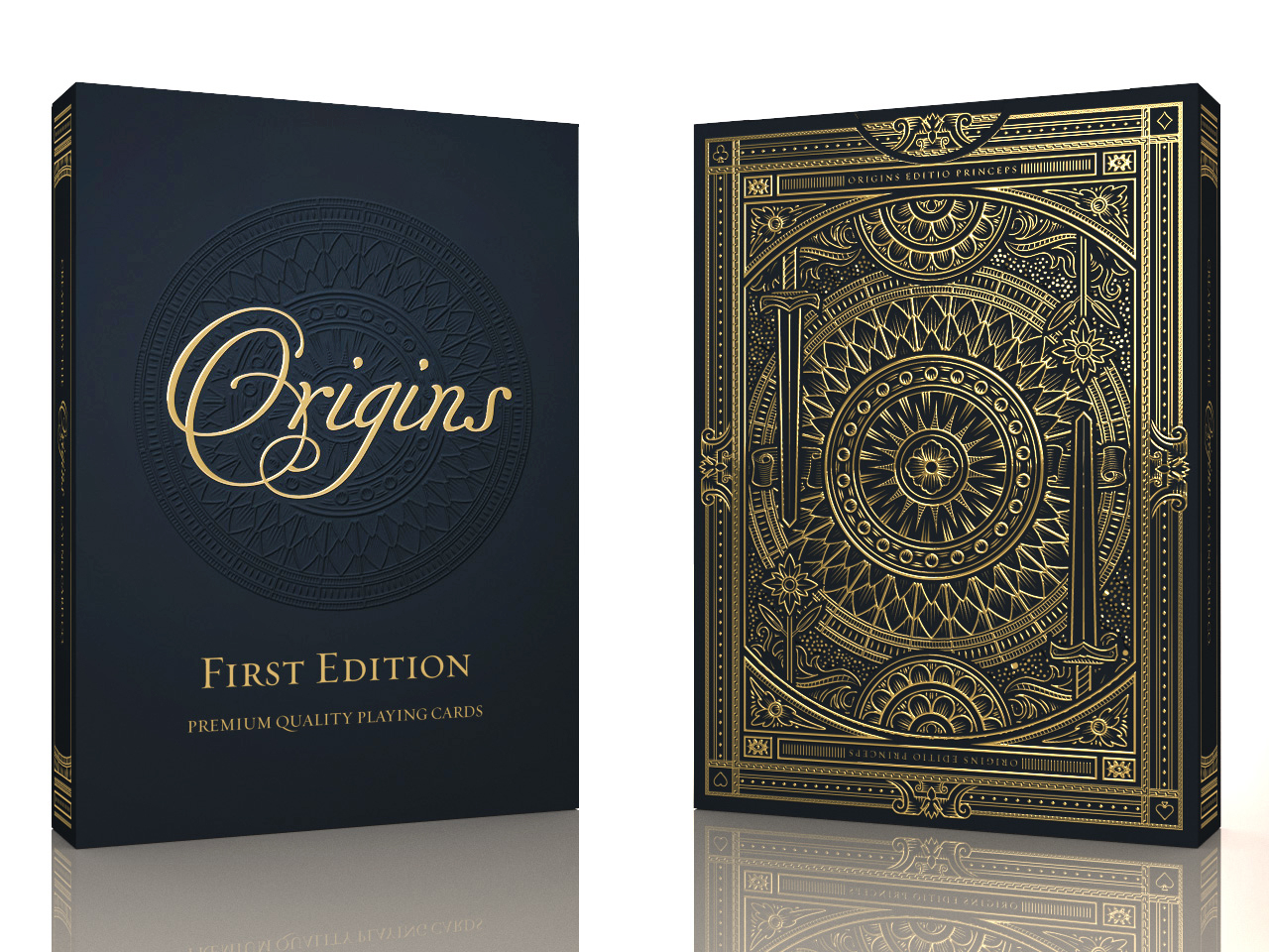 7a7857211 Origins Playing Cards - Printed by the USPCC by Rick Davidson ...