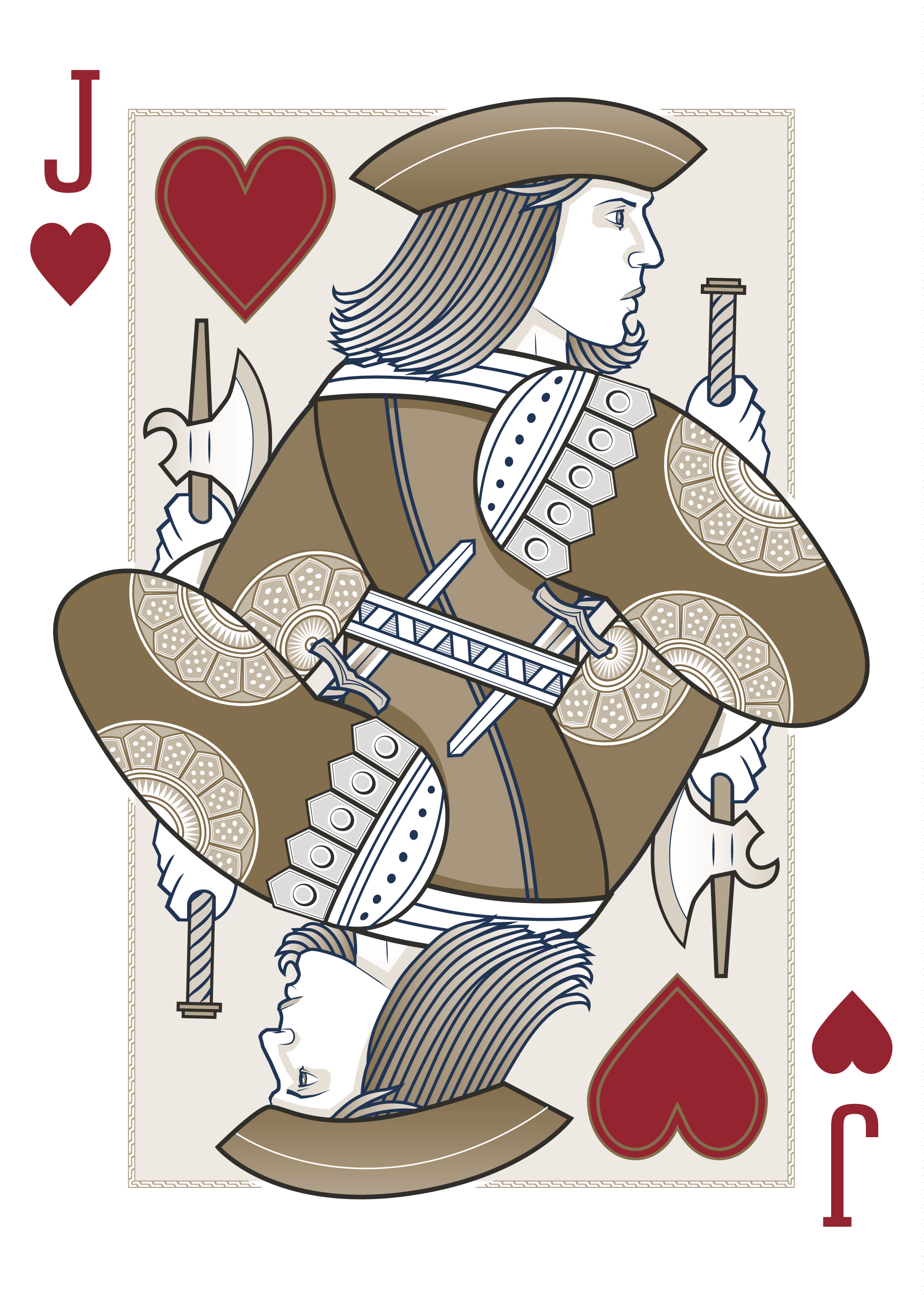 Jack Of Hearts Origins Playing Cards