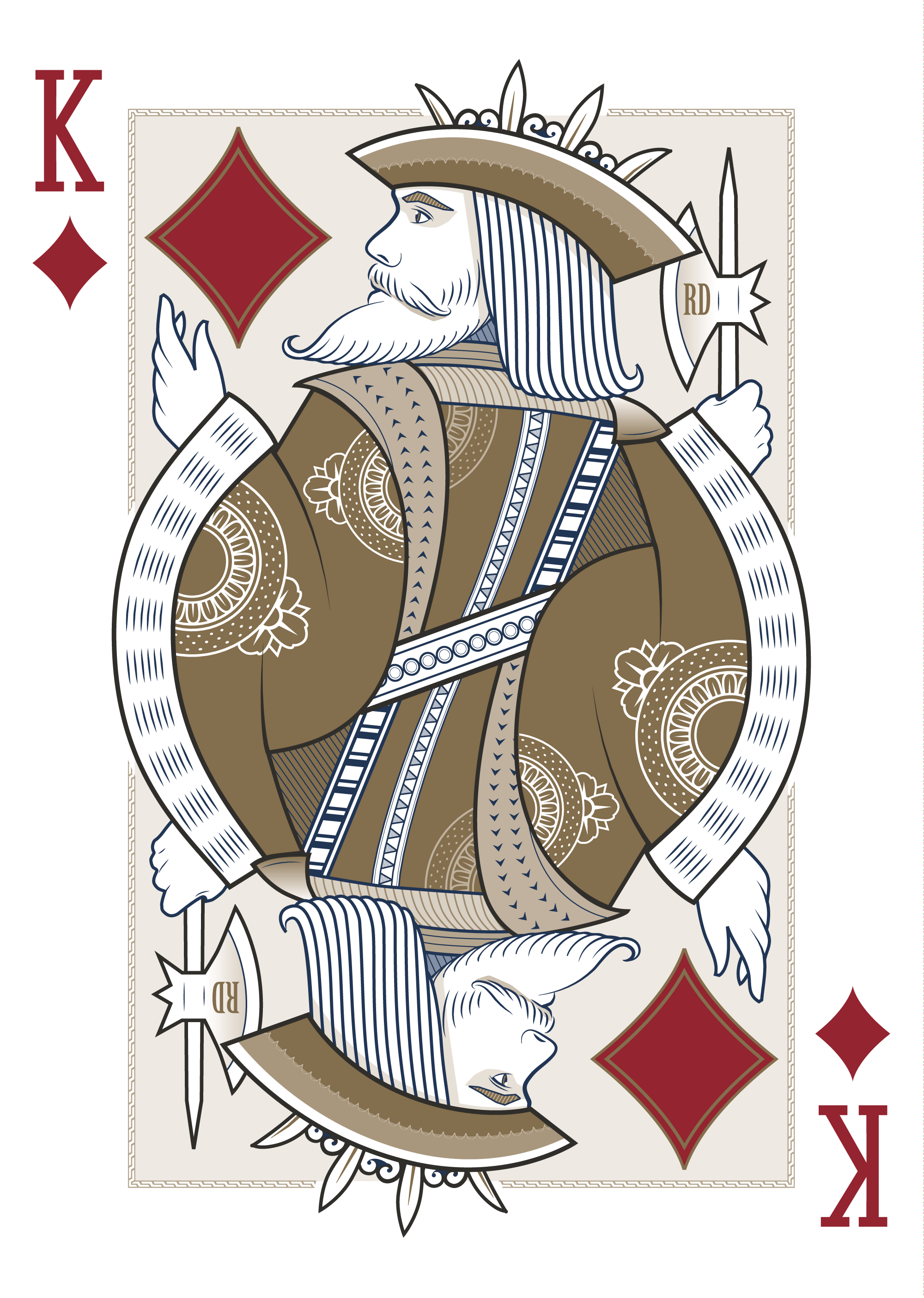 King of Diamonds – Origins Playing Cards