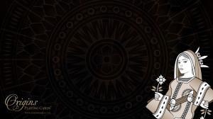Origins Queen wallpaper