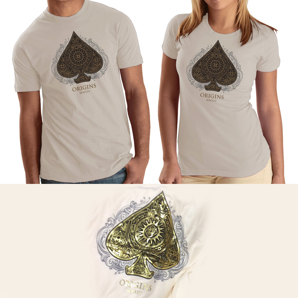5ff6fe26c Origins Designer Tee – Natural – Origins Playing Cards